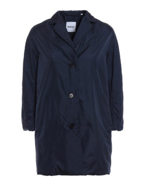 Aspesi: short coats - Pan di Spagna dark blue raincoat