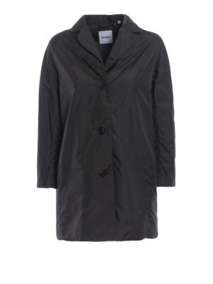 Aspesi: short coats - Pan di Spagna dark grey raincoat