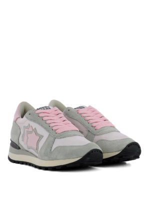 ATLANTIC STARS: sneakers online - Sneaker Alhena grigie e rosa