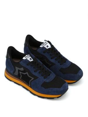 ATLANTIC STARS: sneakers online - Sneaker Antares nere e blu