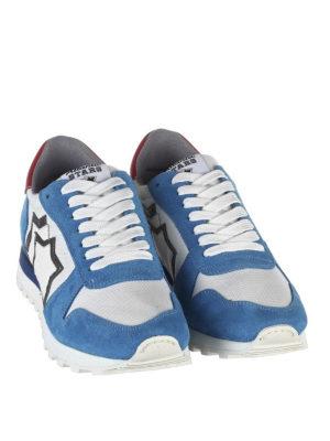 ATLANTIC STARS: sneakers online - Sneaker Argo azzurre e bianche