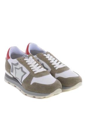 ATLANTIC STARS: sneakers online - Sneaker Sirius tortora e bianco