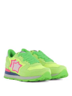 ATLANTIC STARS: sneakers online - Sneaker Vega verdi e gialle