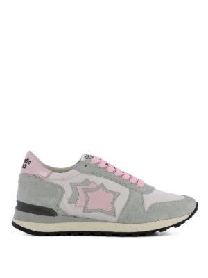 ATLANTIC STARS: sneakers - Sneaker Alhena grigie e rosa