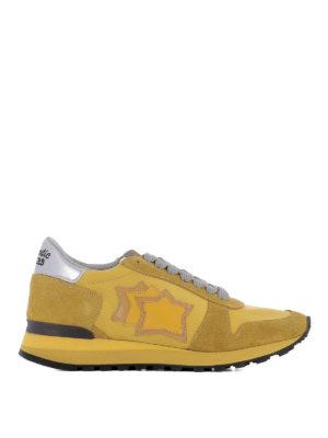 ATLANTIC STARS: sneakers - Sneaker Alhena gialle