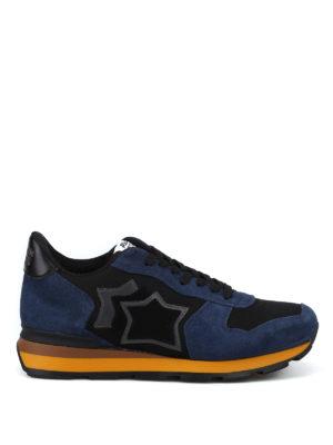 ATLANTIC STARS: sneakers - Sneaker Antares nere e blu