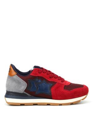 Atlantic Stars: trainers - Antares dark red sneakers