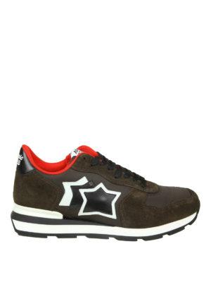 ATLANTIC STARS: sneakers - Sneaker Antares in pelle scamosciata e nylon