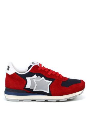 ATLANTIC STARS: sneakers - Sneaker Antares rosse e blu
