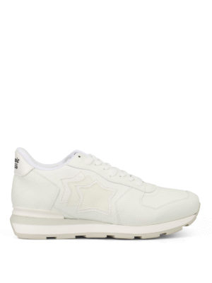 Atlantic Stars: trainers - Antares white leather sneakers