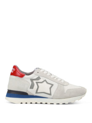 Atlantic Stars: trainers - Argo red detail sneakers