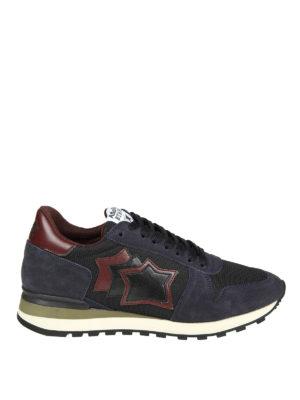 ATLANTIC STARS: sneakers - Sneaker Argo in tecnotessuto e camoscio