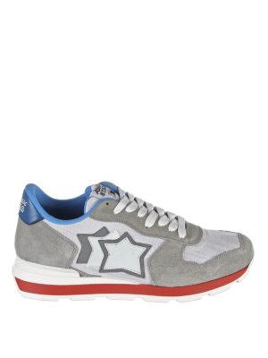 ATLANTIC STARS: sneakers - Sneaker Antares grigio bianche