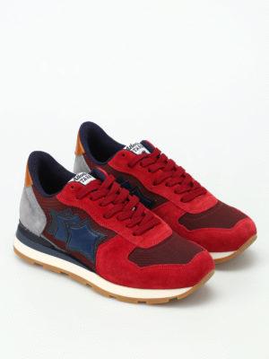 Atlantic Stars: trainers online - Antares dark red sneakers