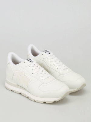 Atlantic Stars: trainers online - Antares white leather sneakers