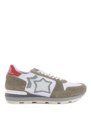 ATLANTIC STARS: sneakers - Sneaker Sirius tortora e bianco