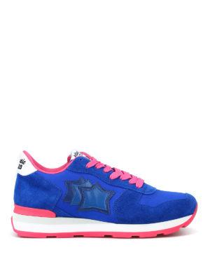 ATLANTIC STARS: sneakers - Sneaker Vega blu elettrico