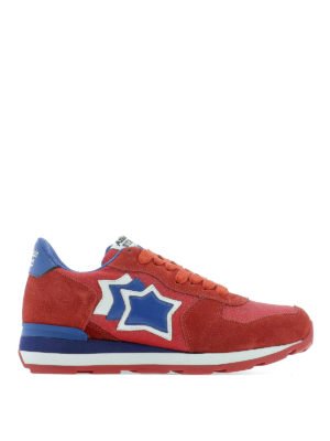 ATLANTIC STARS: trainers - Vega red sneakers