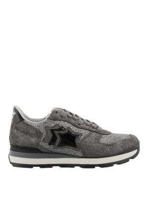 ATLANTIC STARS: sneakers - Sneaker Vega argento