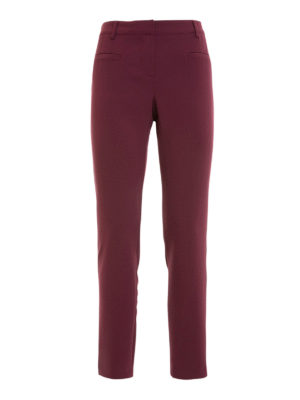 Atos Lombardini: casual trousers - Low rise tapered trousers