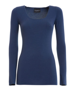 Atos Lombardini: Sweatshirts & Sweaters - Viscose jersey sweater