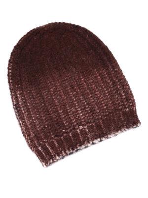 Avant Toi: beanies - Twisted rib knitted beanie