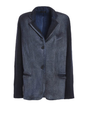 Avant Toi: blazers - Knitted wool blazer