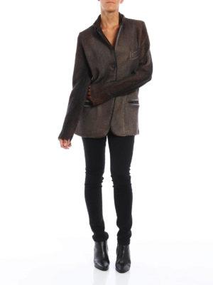 Avant Toi: blazers online - Knitted wool blazer