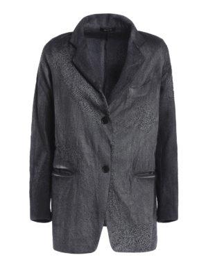 Avant Toi: blazers - Shaded virgin wool blazer