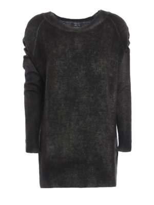 Avant Toi: boat necks - Cashmere and silk long sweater