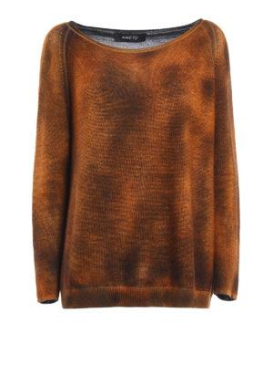 Avant Toi: boat necks - Cashmere and silk oversize sweater
