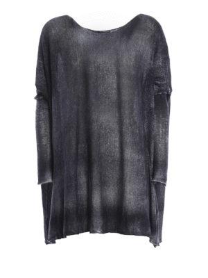 Avant Toi: boat necks - Cashmere and silk oversize top
