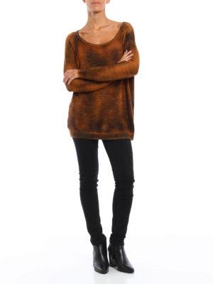 Avant Toi: boat necks online - Cashmere and silk oversize sweater