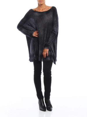 Avant Toi: boat necks online - Cashmere and silk oversize top