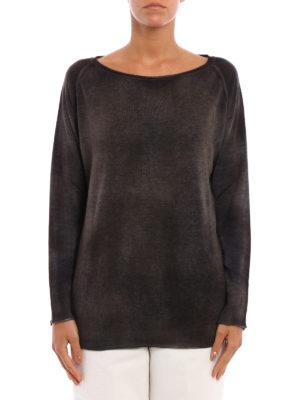 Avant Toi: boat necks online - Cashmere and silk sweater