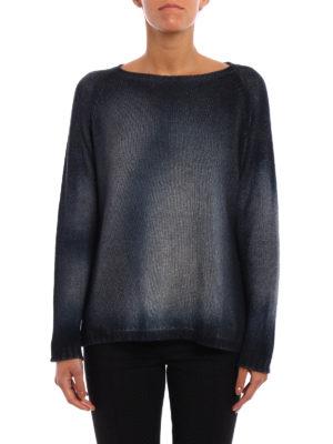 Avant Toi: boat necks online - Cashmere faded dye sweater
