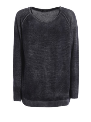 Avant Toi: boat necks - Shaded cashmere and silk sweater