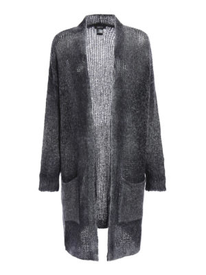 Avant Toi: cardigans - Cashmere and silk long cardigan