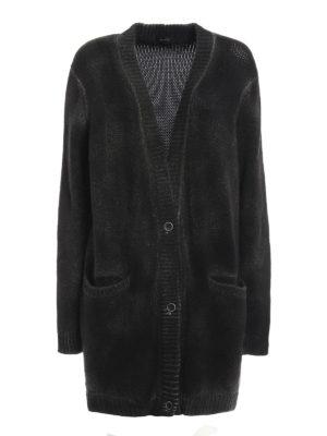 Avant Toi: cardigans - Merino wool oversize cardigan