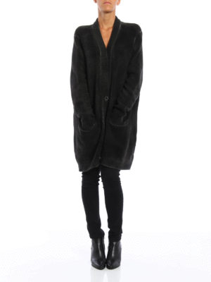 Avant Toi: cardigans online - Merino wool oversize cardigan
