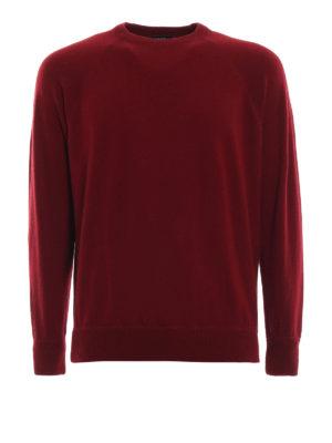 AVANT-TOI: maglia collo rotondo - Pull stile felpa in cashmere bordeaux