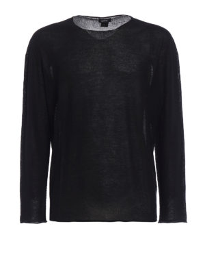 Avant Toi: crew necks - Cashmere and silk reversible top