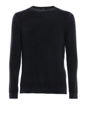 AVANT-TOI: maglia collo rotondo - Pull girocollo in cashmere blu navy