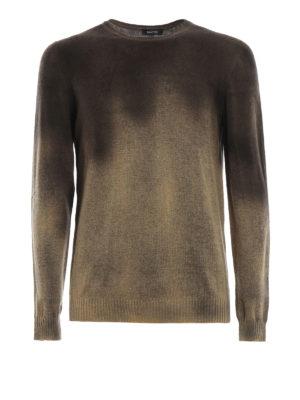 AVANT-TOI: maglia collo rotondo - Girocollo slim in cashmere dégradé
