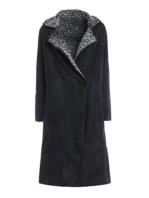 Avant Toi: knee length coats - Reversible oversize coat