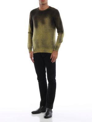 AVANT-TOI: maglia collo rotondo online - Girocollo slim in cashmere effetto dégradé