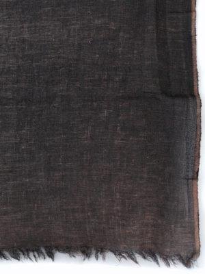 AVANT-TOI: Stole & Scialli online - Stola in lino dipinta a mano