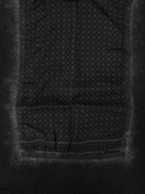 Avant Toi: scarves online - Printed silk panelled scarf