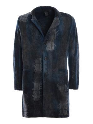 AVANT-TOI  cappotti corti - Cappotto effetto patchwork infeltrito velvet a499cd1b739
