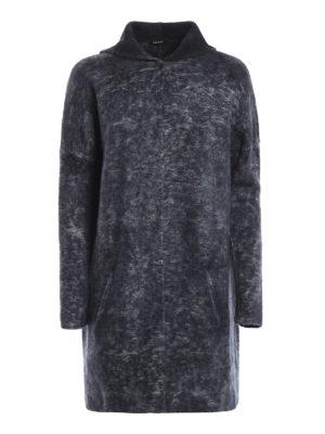 Avant Toi: short coats - Hodded jacquard short coat